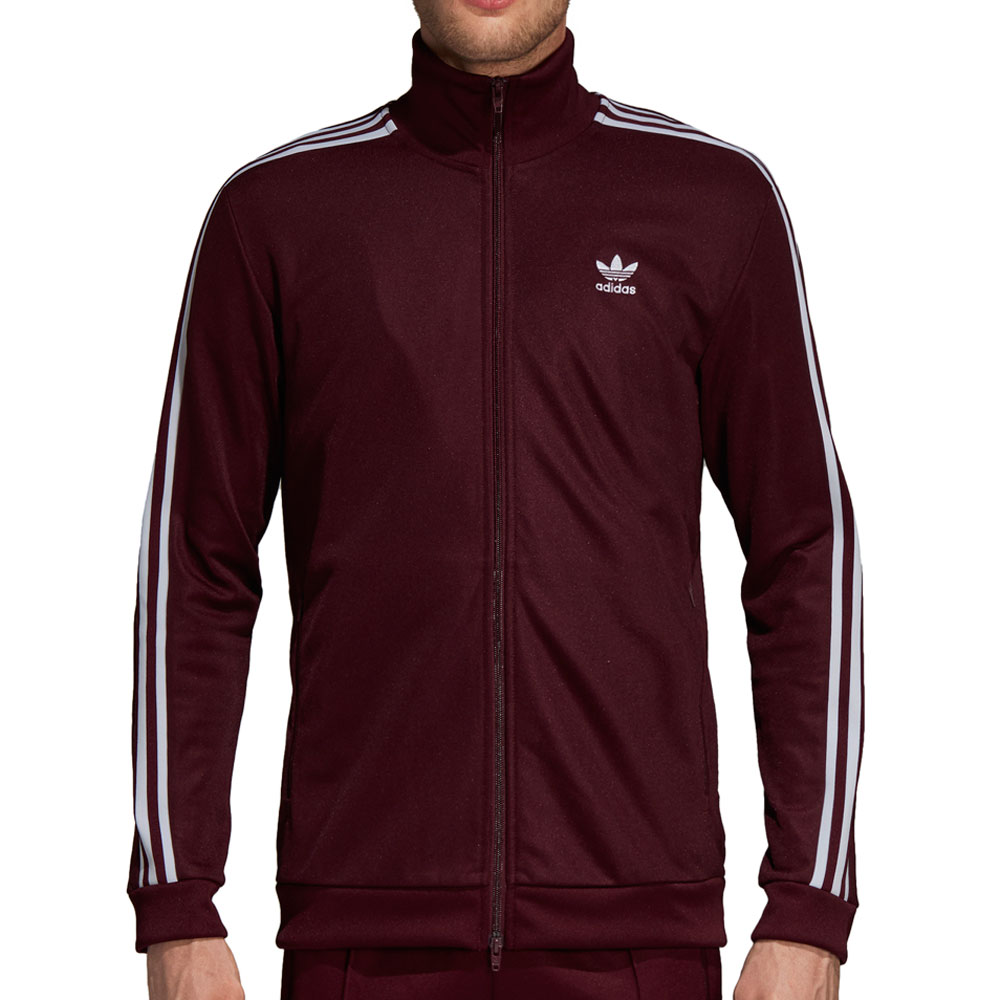 Adidas Originals White Beckenbauer Track Jacket for men