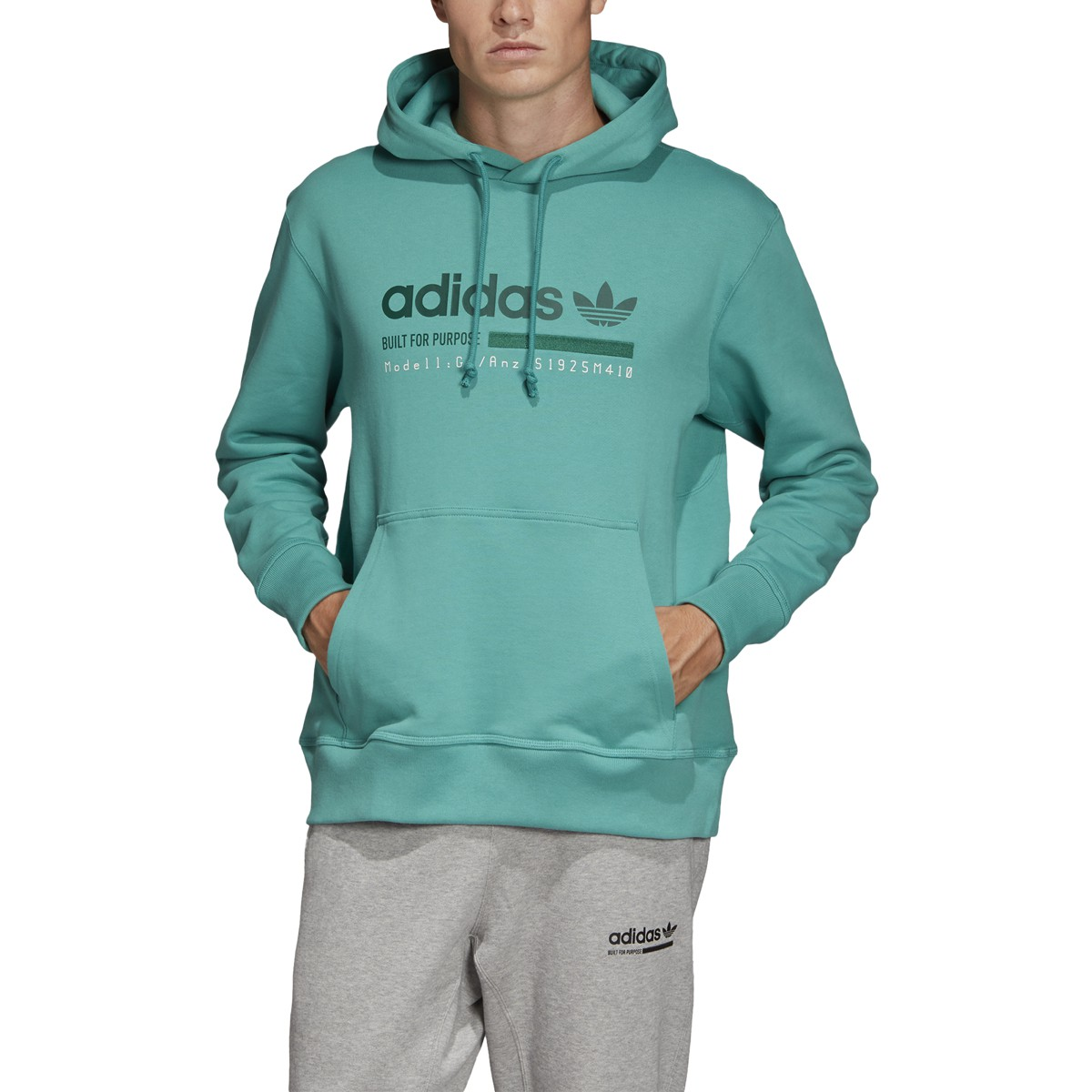 Noche Ambos Prescripción  Adidas Originals Kaval Graphic Mens Hoodie True Green DV1912 | eBay
