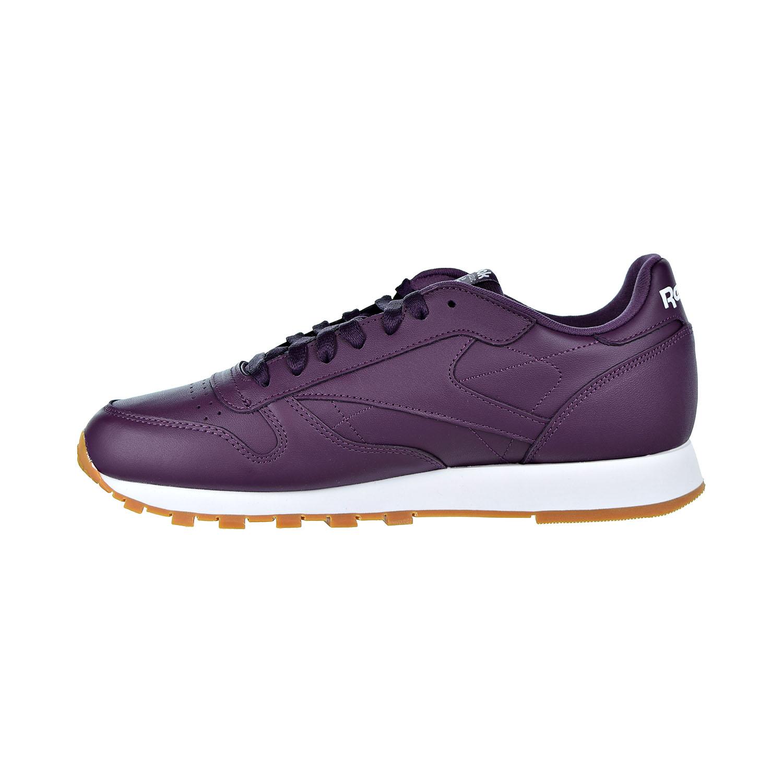 Détails sur Reebok En Cuir Classique Chaussures Hommes Urban VioletBlanc DV3838 afficher le titre d'origine