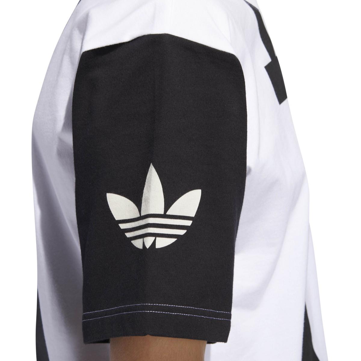 Details about Adidas Men's Originals Big Adi Tee Black White DY6653
