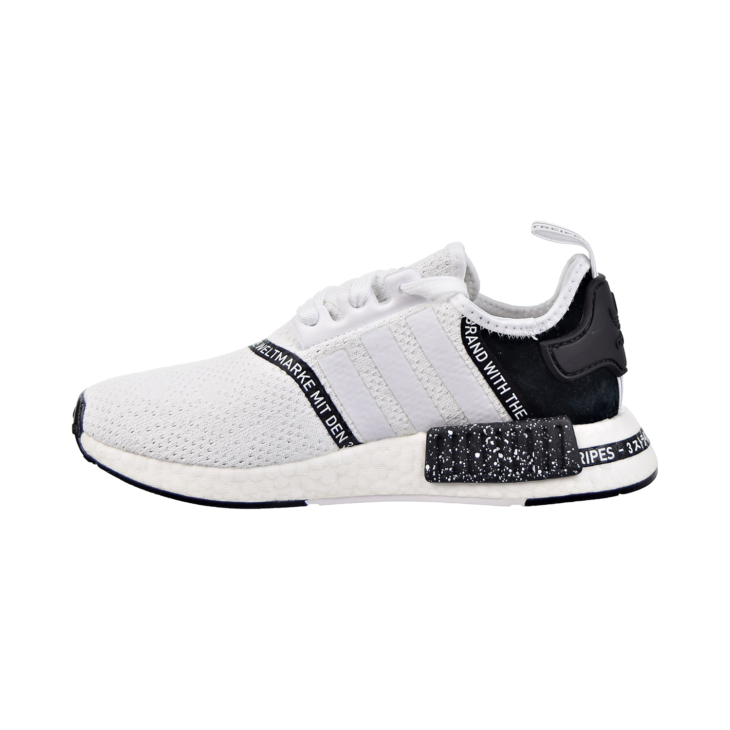 Adidas Nmd R1 J Big Kids Cloud White Cloud White Core Black Ef3647