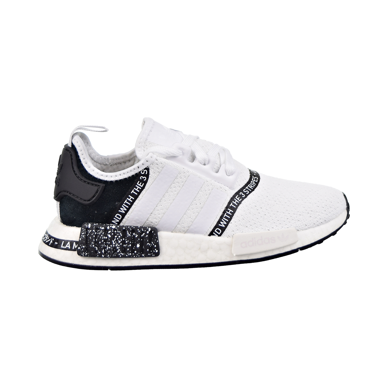 Adidas Nmd R1 J Big Kids Cloud White Cloud White Core Black Ef3647