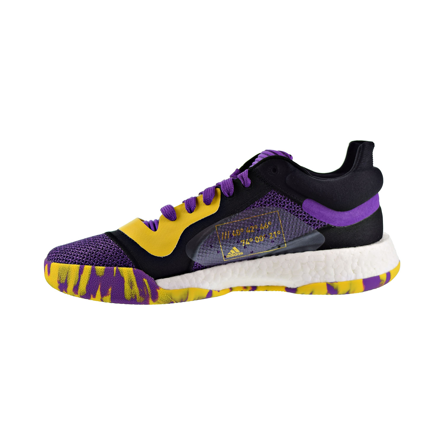 Dalset Reunir Contabilidad  Adidas Marquee Boost Low Men's Shoes Active Purple-Bold Gold G27746 | eBay