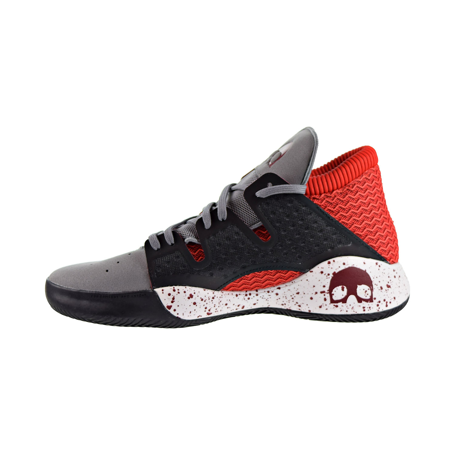 Details about Adidas Pro Vision Men's Basketball Shoes Grey Three Collegiate Burgundy G27754