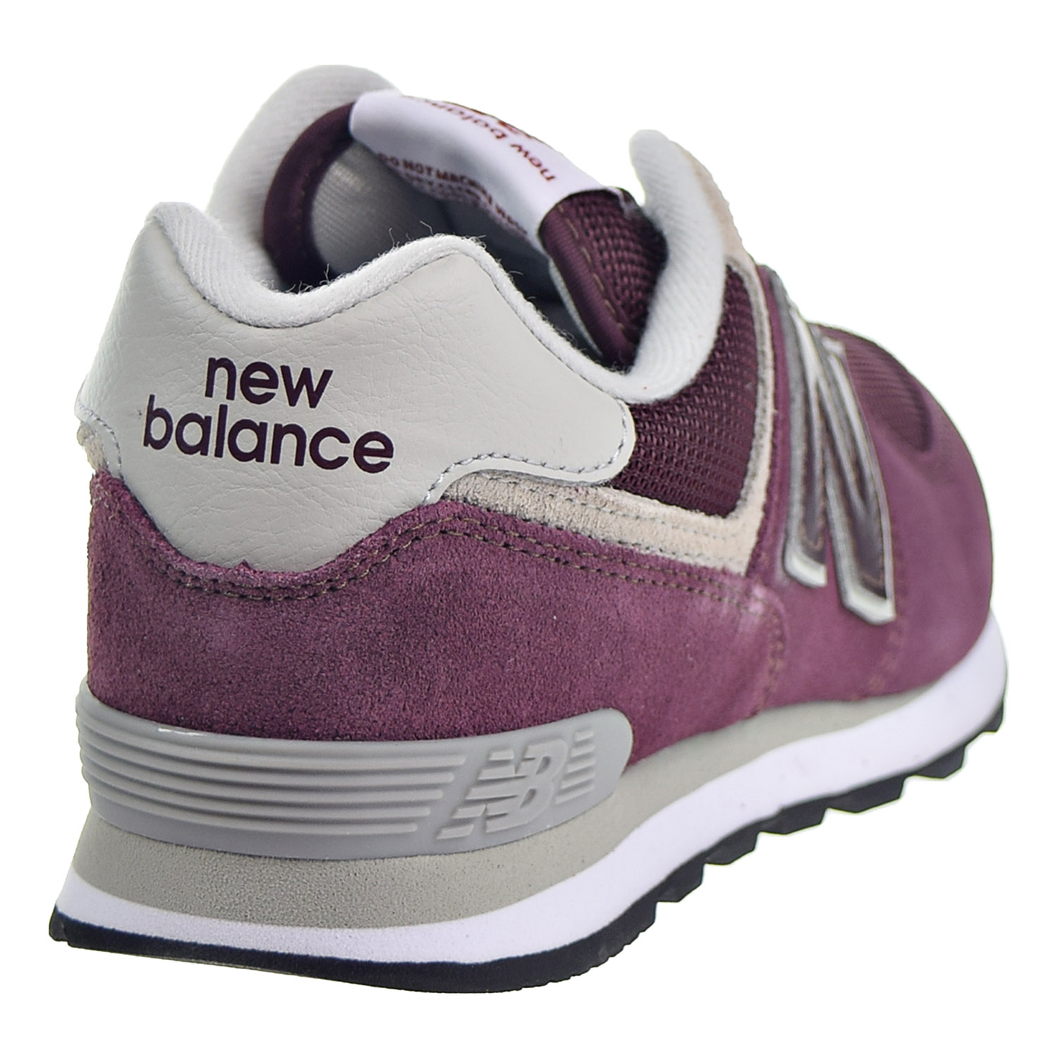 17ad2f7cb03 New Balance 574 Core Big Kid s Shoes Burgundy Grey GC574-GB