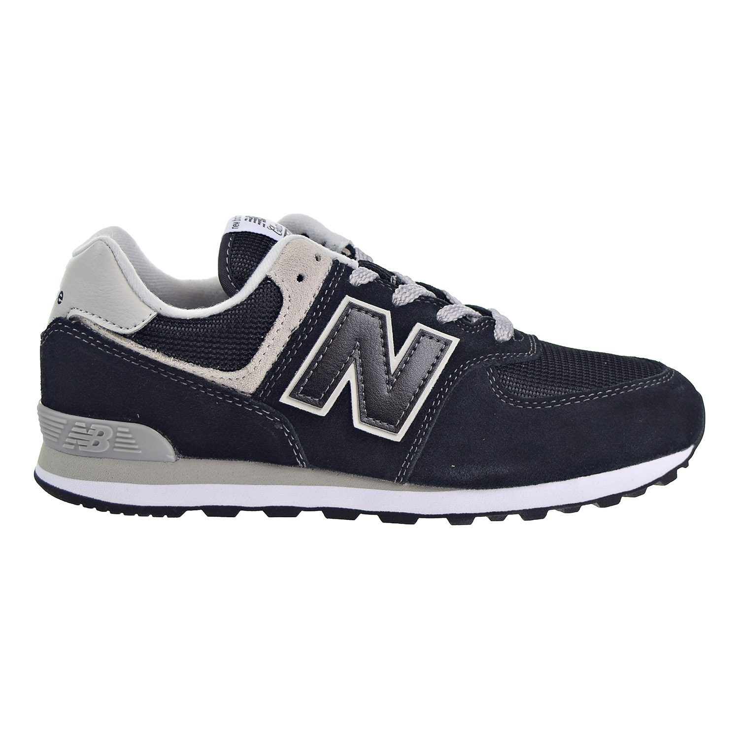 3309b64ed9ee50 Details about New Balance 574 Core Big Kid's Shoes Black/Grey GC574-GK