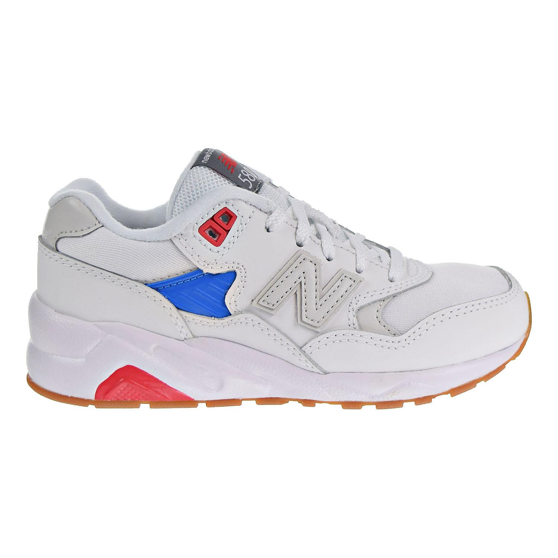 the best attitude cc52c 5c346 Details about New Balance 580 Little Kids' Shoes White/Blue/Gum KL580WGP