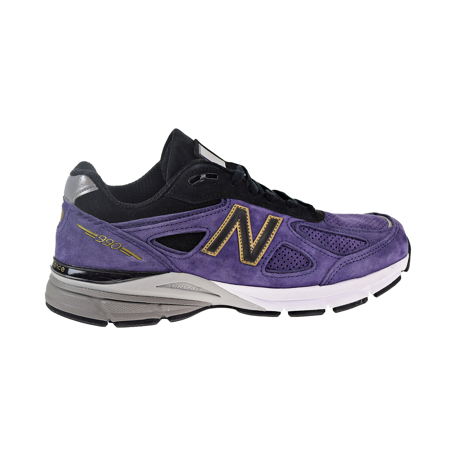 promo code cc651 28499 Details about New Balance 990 Men's Shoes Black/Wild Indigo M990BP4
