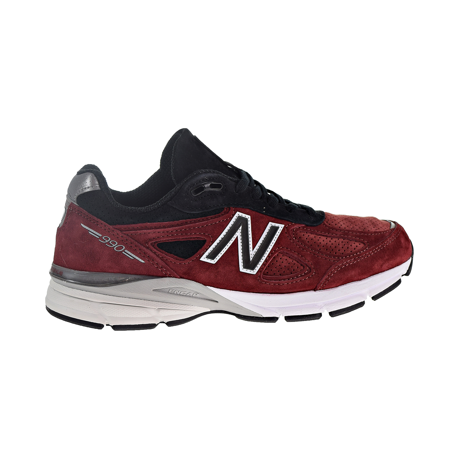 best sneakers 05907 57550 Details about New Balance 990v4 Men's Shoes Black/Mercury Red M990RB4