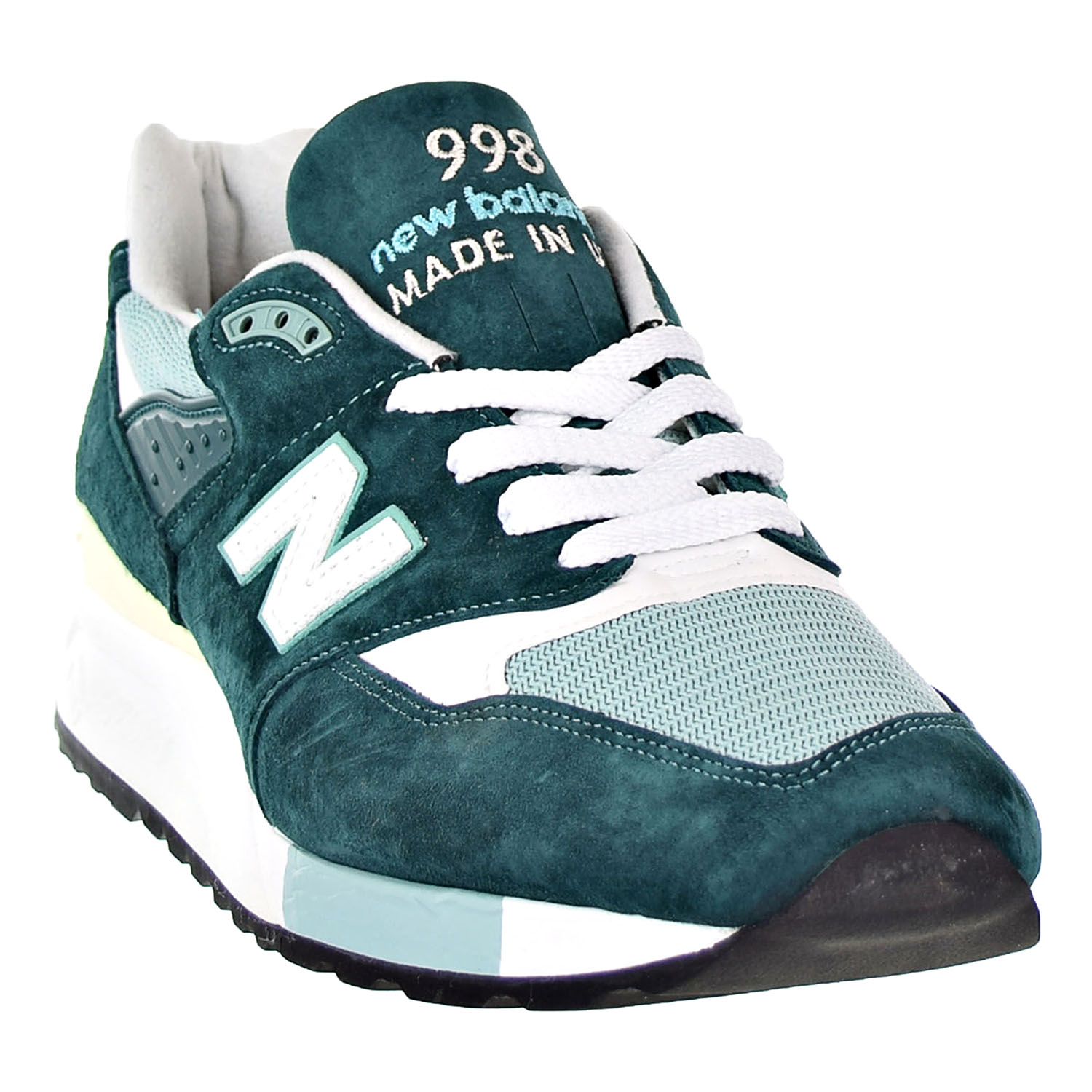 8703106ff New Balance 998 Classic Men s Shoes Dark Green White Made In USA m998-csam