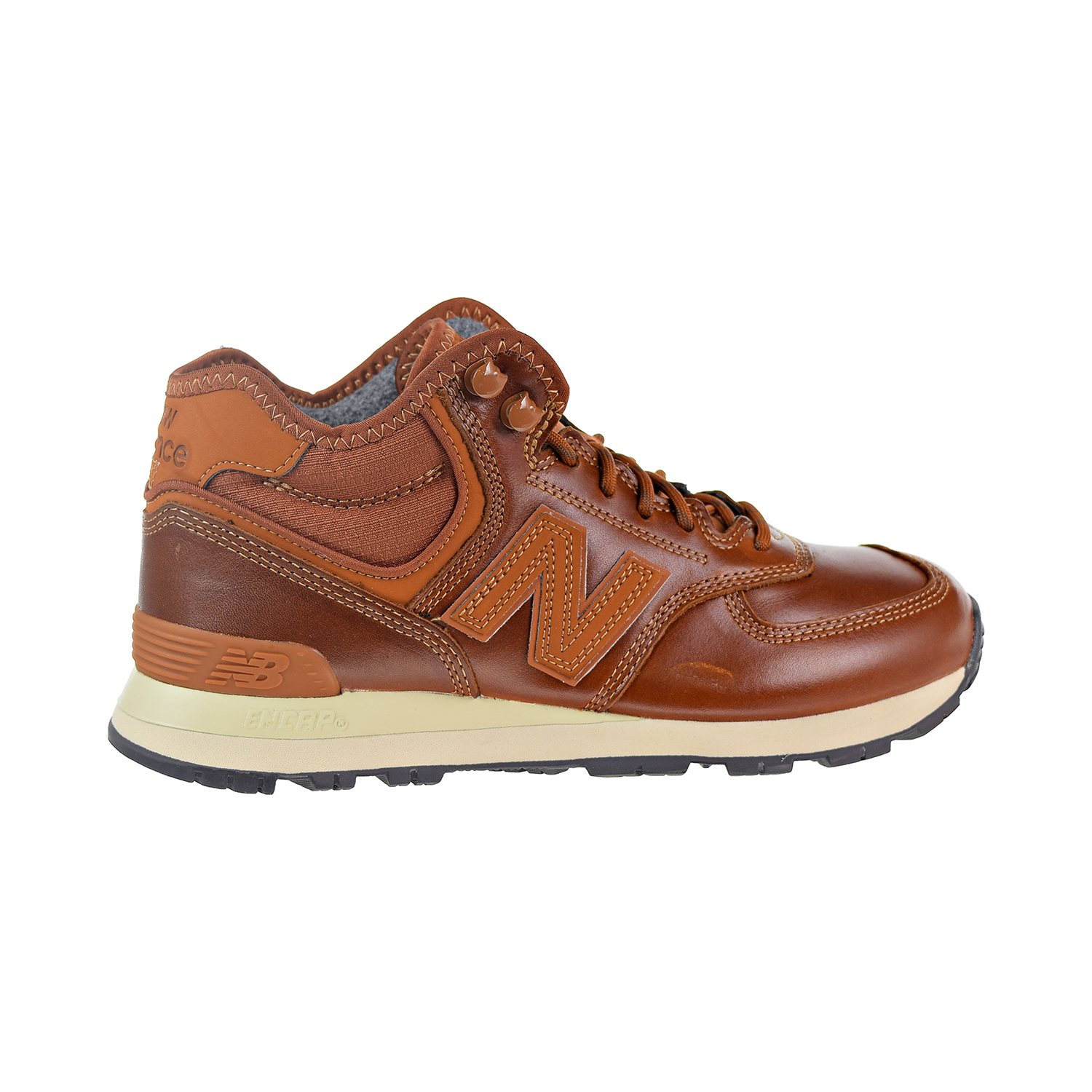newest 0f318 036df Details about New Balance 574 Men's Shoes Brown MH574-OAD