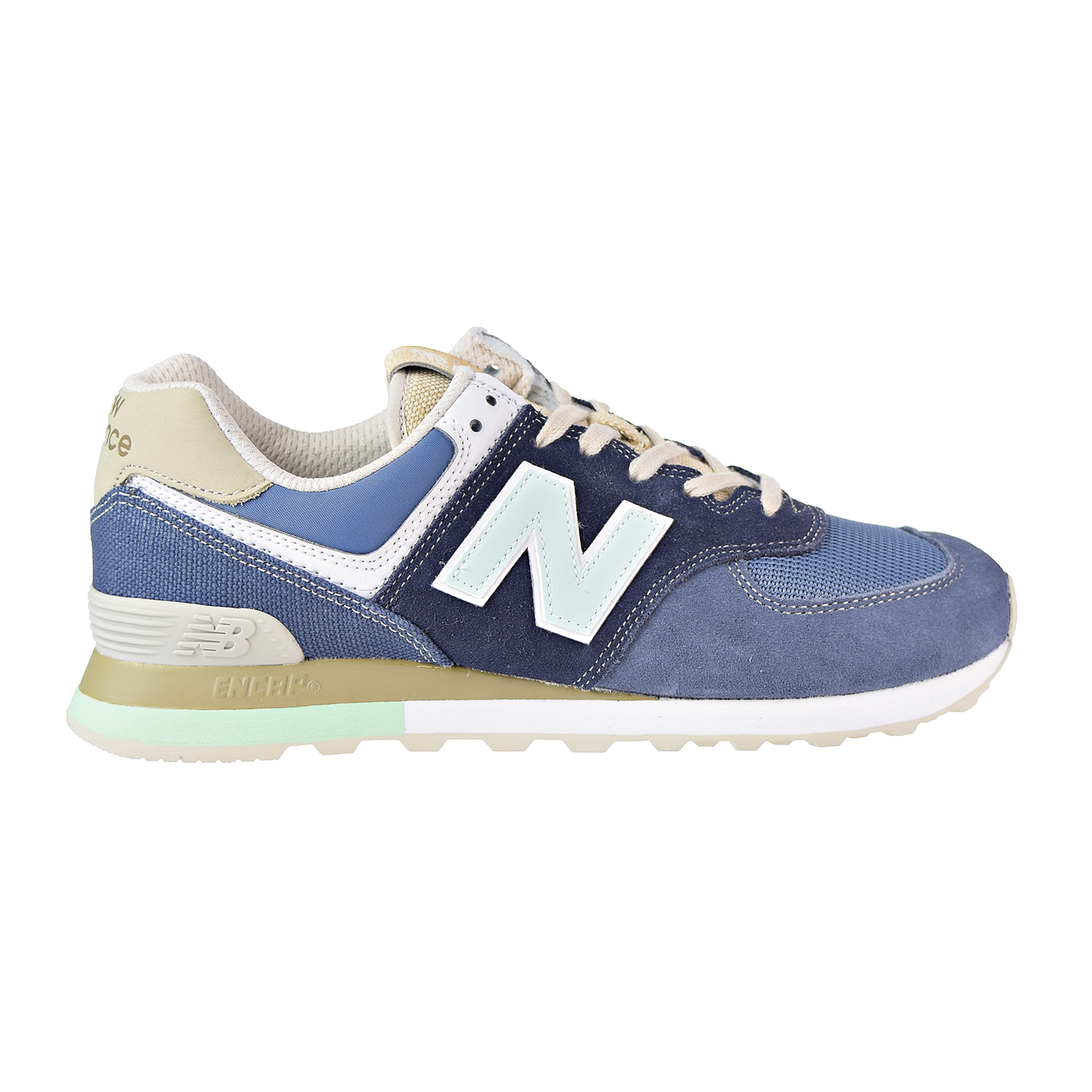 huge selection of fc6f5 6b3b9 New Balance 574 Retro Surf Men s Shoes Blue Green ml574-bsl