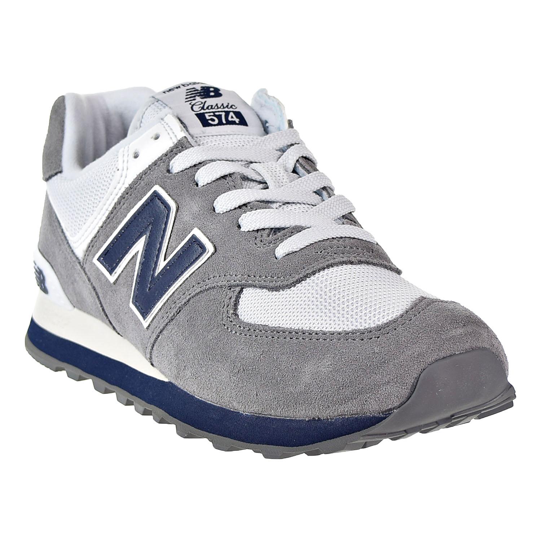 New 574 Core Plus para hombre Balance Zapatos GrisAzul