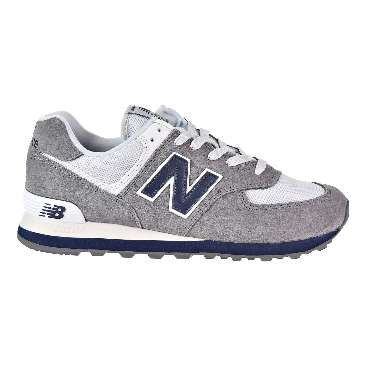 the best attitude 08996 e14ba Details about New Balance 574 Core Plus Men's Shoes Grey/Blue/White ML574ESD