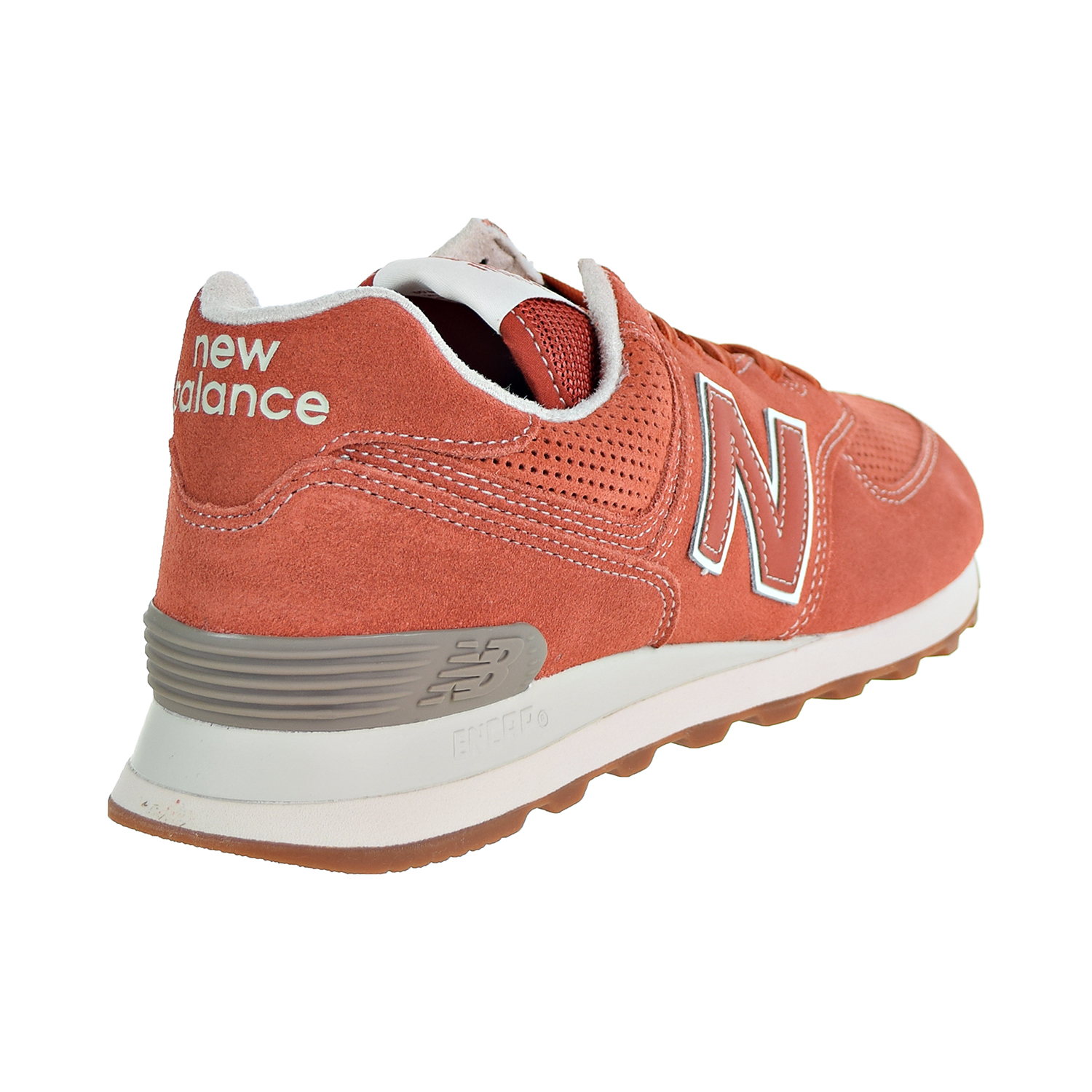 best service bb20e d5f01 Details about New Balance 574 Suede Men's Shoes Vintage Russet Orange  ML574-ESH