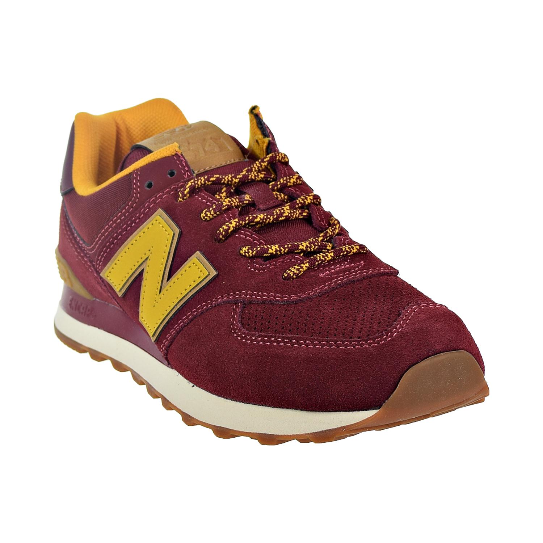 ca2297429a0 New Balance 574 Men s Shoes Mercury Red Yellow ML574-OTC