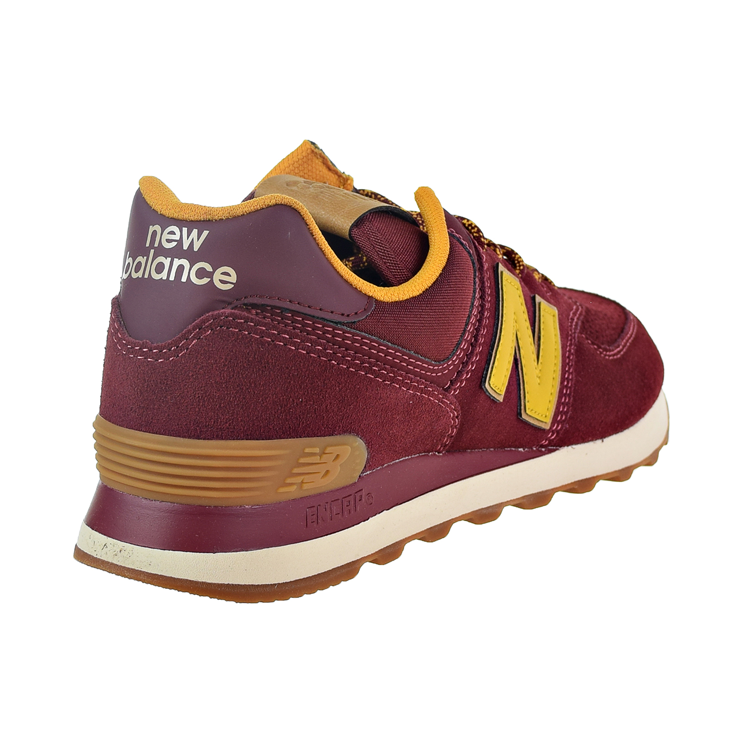 sports shoes dd7a4 d18a7 New Balance 574 Men's Shoes Mercury Red/Yellow ML574-OTC | eBay