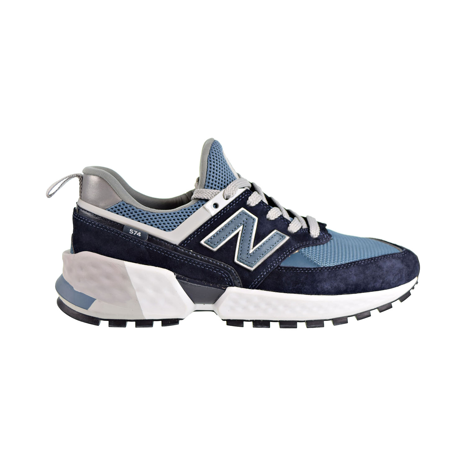 Details about New Balance 574 Sport Men's Shoes Dark Navy White MS574EDC