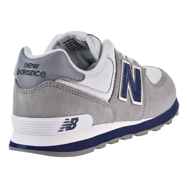 wholesale dealer 77fbb 1ed73 Details about New Balance 574 Core Plus Little Kid's Shoes Grey/White/Navy  PC574CG