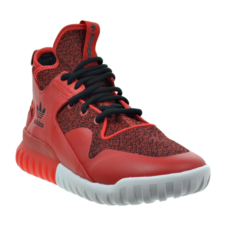 Details about Adidas Tubular X Men's Shoes Red Carbon Black s74929