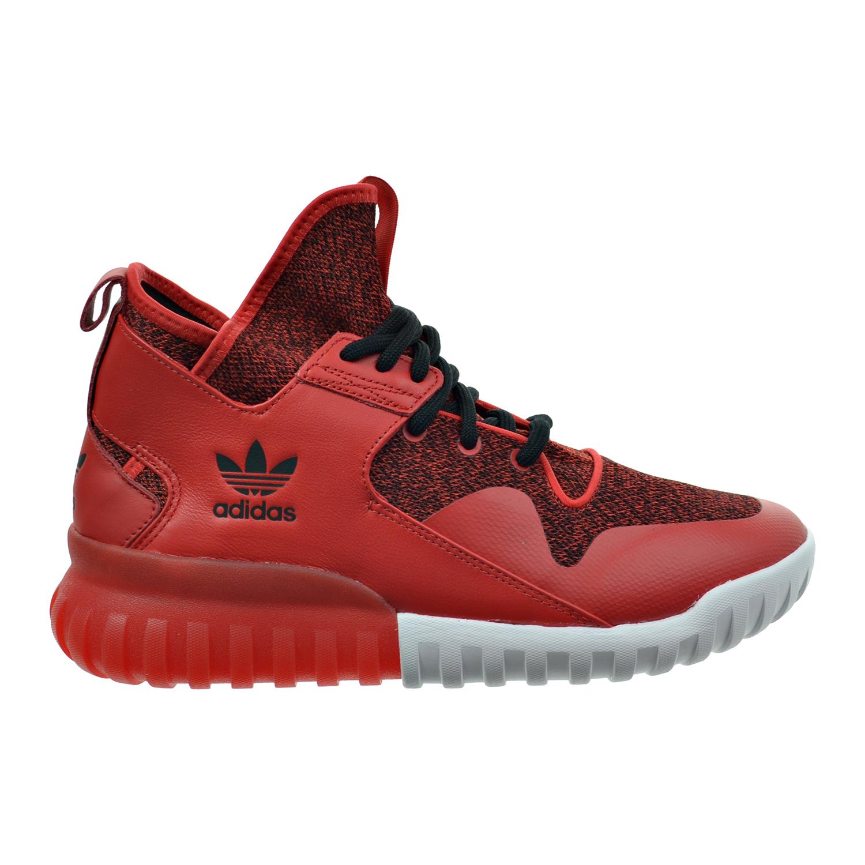 Nowa kolekcja wiele stylów najnowszy Details about Adidas Tubular X Men's Shoes Red-Carbon Black s74929