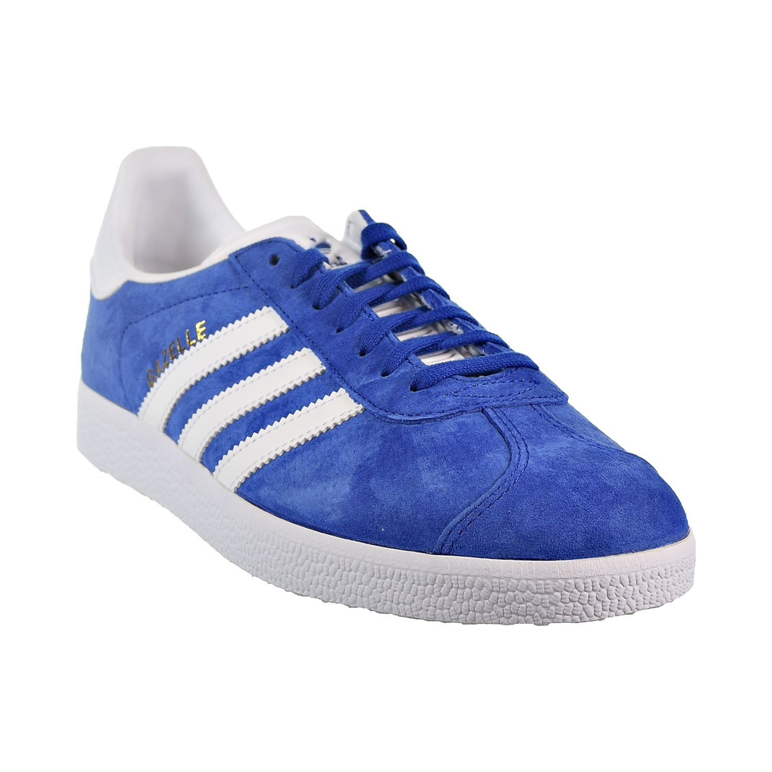 online store 71a25 ee737 Adidas Gazelle Men s Shoes Collegiate Royal White Gold Metallic s76227