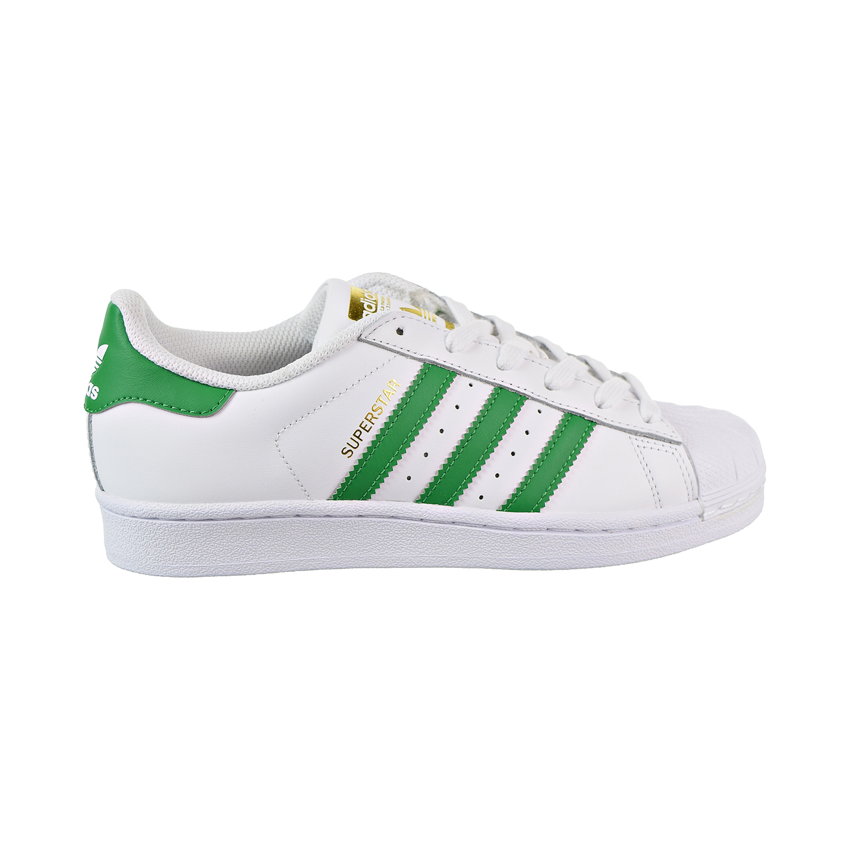 793aff8911ada8 Details about Adidas Superstar Big Kids  Shoes Cloud White Green Gold  Metallic S81017