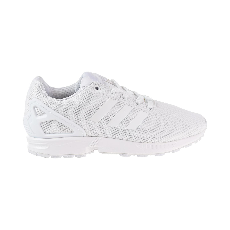 huge discount e5fae 2ec13 Details about Adidas ZX Flux Big Kids' Shoes Footwear White/Footwear White  s81421