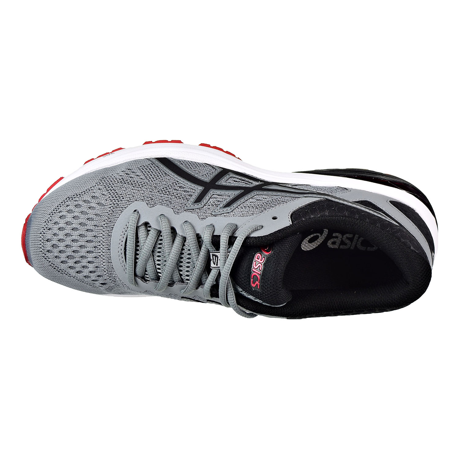 a05bdabc699 Details about Asics GT-1000 6 Men's Running Shoes Stone Grey/Black/Classic  Red T7A4N-1190