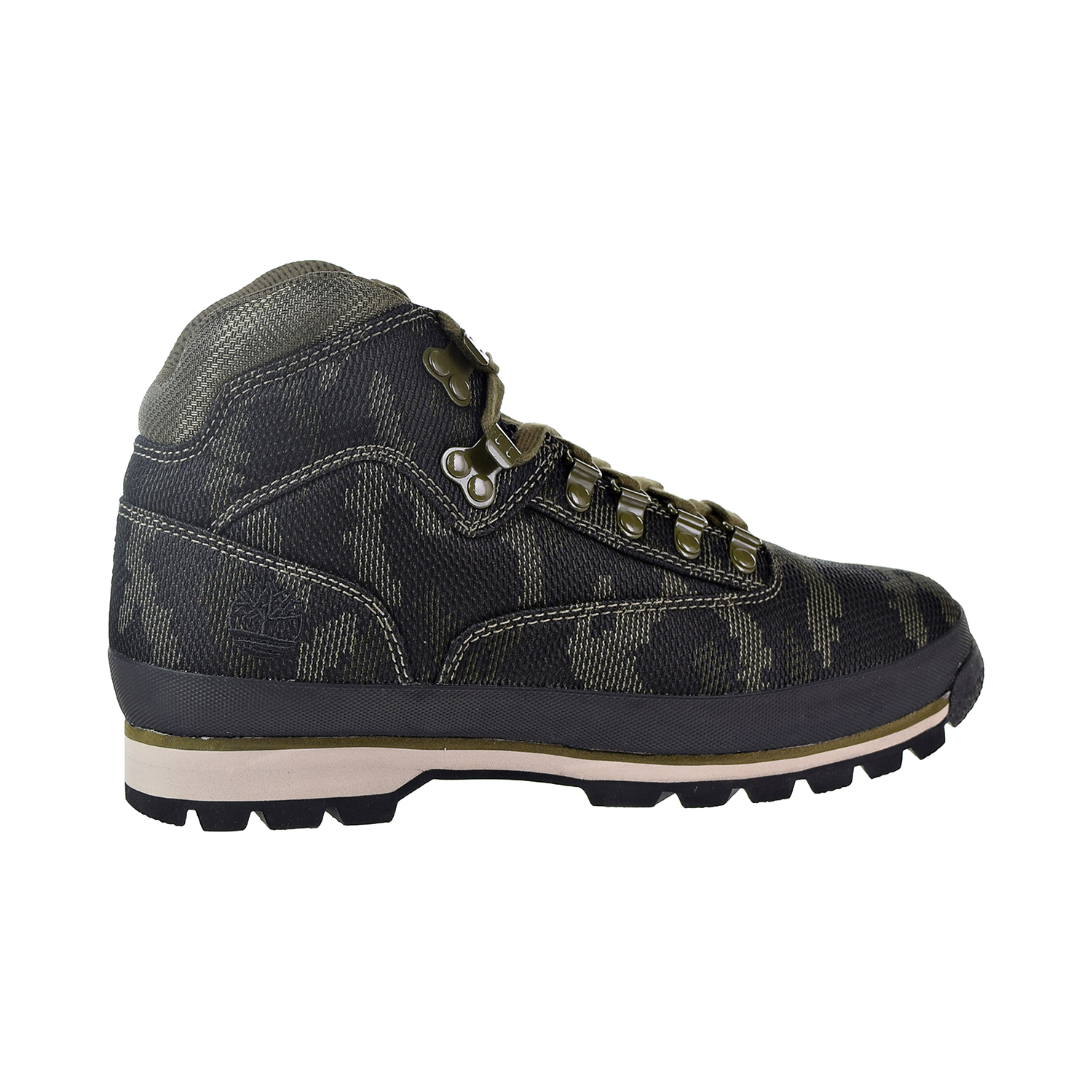 d7094dad9 Details about Timberland Eurohiker Fabric Men s Boots Black Jacquard Camo  TB0A1RC1