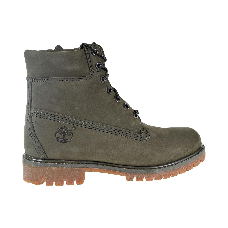 """Timberland Premium 6"""" Premium Boots Khaki Green"""