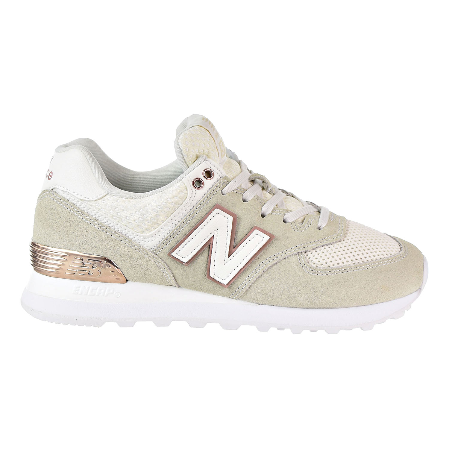 finest selection fb3cc 23b45 New Balance 574 All Day Rose Womens's Shoes Sea Salt ...